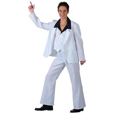 70's Disco Fever 1970's Dancer John Travolta Adults Mens Fancy Dress Costume - John Travolta Costume