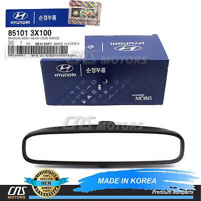 GENUINE REAR View Mirror W/O Auto Dim for 2010-2015 Hyundai Kia 851013X100
