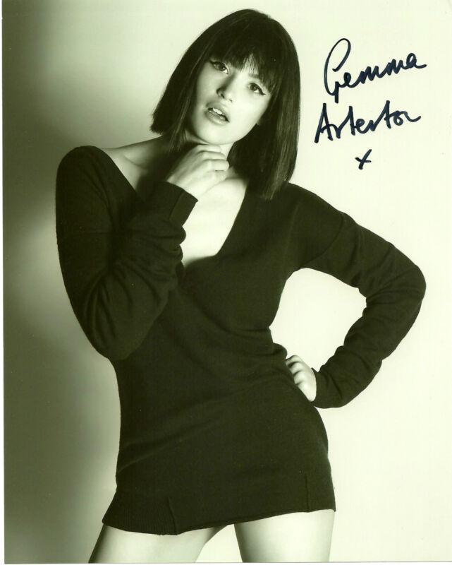 Sexy Gemma Arterton Autographed Signed 8x10 Photo COA