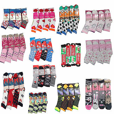 12/6 lot Pair Boys Girls Children Kids toddlers Socks Designer Character Cotton