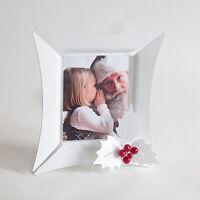 Cornice Portafoto Tavolo Holly Xmas Metallo Vari Colori Natale Arti E Mestieri -  - ebay.it