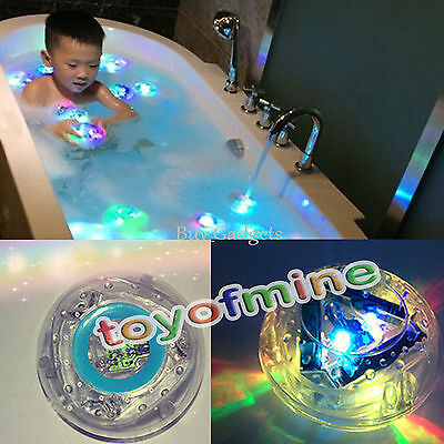 PARTY IN THE TUB TOY BATH WATER LED LIGHT KIDS WATERPROOF CHILDREN FUNNY TOYS