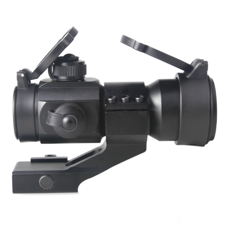 Red Green Dot Sight Scope Tactical Reflex  w/ 20mm Weaver Rail 4 MOA.