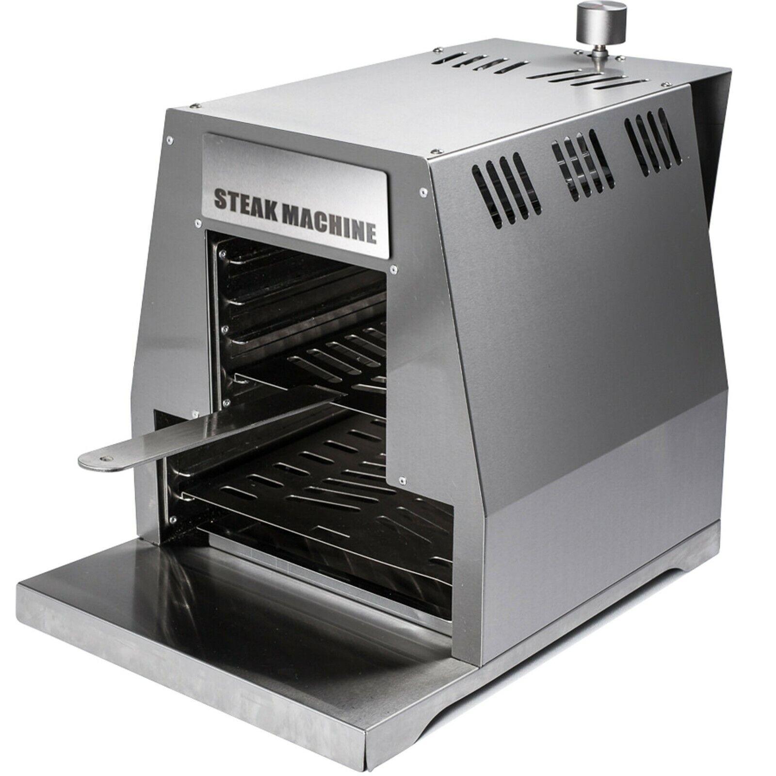 Activa STEAK MACHINE Gasgrill  800° Oberhitze Edelstahl Steak Grill BBQ