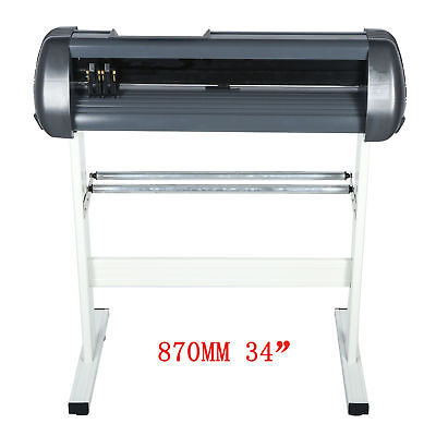 34 Inch Adjustable Width Vinyl Cutter Machine Sign Making Machine