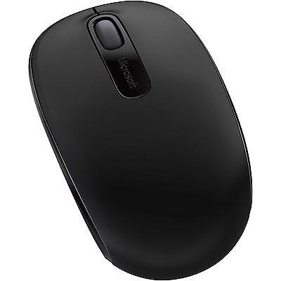 MICROSOFT Maus - Wireless Mobile 1850 Mouse, kabellos, schwarz - inkl. Versand