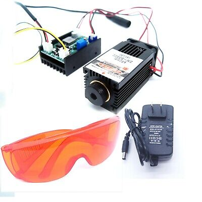 Focusable 450nm 3.5w Blue Laser Modulettlanalogue With Gift Goggles
