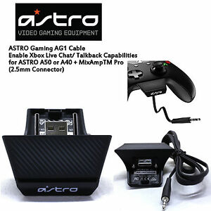 astro a50 xbox one chat services