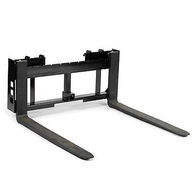 Titan Attachments 45 Skid Steer Pallet Fork Frame Attachment 48 Fork Blades