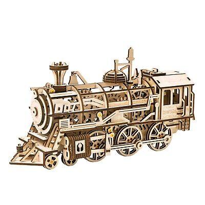 ROKR 3D-Holz-Puzzle Locomotive Modellbausatz