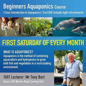 Aquaponics - Introduction Course Canning Vale Canning Area Preview