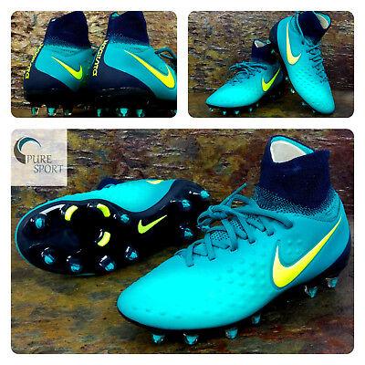 NIKE Junior MAGISTA OBRA II FG New Football Boots Uk 5 Eu 38 844410-375 TOP SPEC