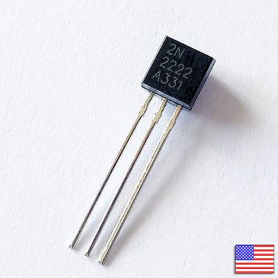 30x 30pcs 2n2222a 2n2222 Pn2222a Npn Transistor -high Quality- Free Shipping
