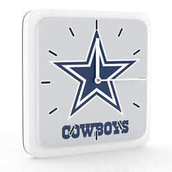 New 3 in 1 NFL Dallas Cowboys Home Office Decor Wall Desk Magnet Clock 6