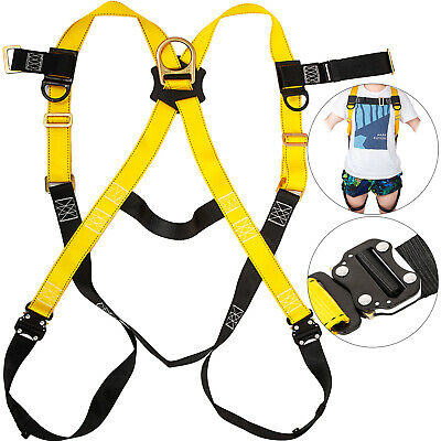 Construction Harness Full Body Type W1 Rear D-ring Polyester Roofers Safety