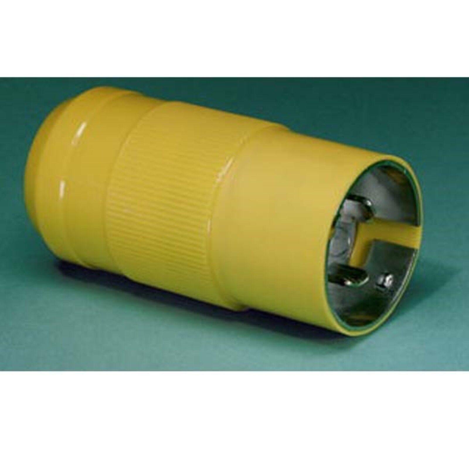 Marinco 6361crn 50a Shore Power Male Plug 125v