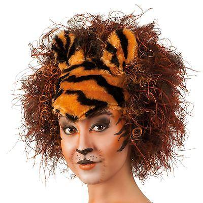 Furry Kostüm Katze (Tiger pro Katze Ohr Kostüm Neuheit Theater Speicher West Lloyd Furry)
