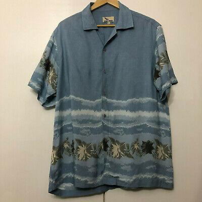 Vintage Hawaiian Style Pattern Shirt Classic Retro Multicolour Medium