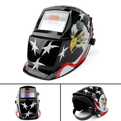 Solar Auto Darkening Welding Helmet Tig Mig Welder Lens Grinding Mask 34 Us