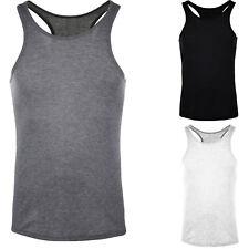 Réservoir Homme Haut Coton Slim Fit Débardeur Casual De gymnastique T-Shirt