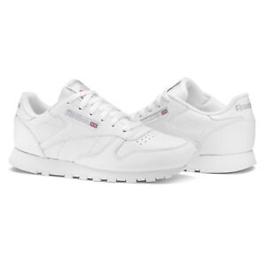 c5edf8c339e397 Reebok Classic Leather Damen Sneakers - Weiß