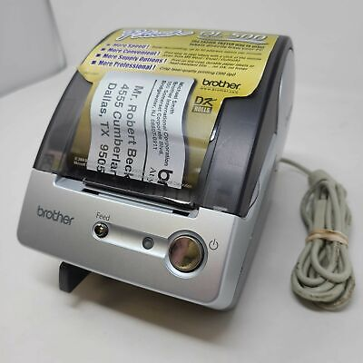 Brother P-touch Ql-500 Thermal Label Printer Usb Connection Pre Owned