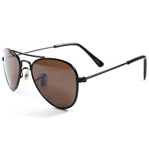 New Kids Children Boys Girls Black Aviator Small Sunglasses UV Protection Lens