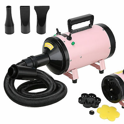Portable Dog Cat Pet Hair Grooming Dryer Blow Blaster Hairdryer Blower 2800W New