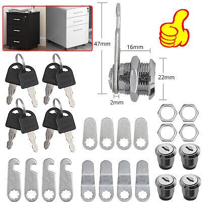 Cam Lock Cabinet Keyed Cam Locks Pack Of 4 Keyed Cam Lock Rv Door Drawer 16mm