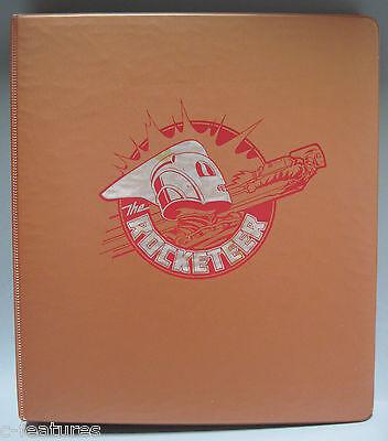 THE ROCKETEER 1992 Disney Merchandising STYLE GUIDE Binder DAVE STEVENS Rare!