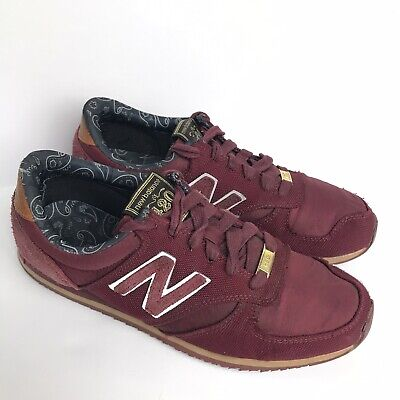 New Balance x Herschel Supply Co. U420HST Mens 6 Burgundy Sneakers Shoes Rare
