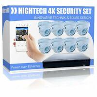UHD Videoüberwachung Set mit 8 Dome 4K PoE Kameras inkl. Software Nordrhein-Westfalen - Paderborn Vorschau