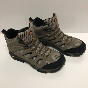 Merrell Mens vibram leather mid hiking boots size 12 Montrose Yarra Ranges Preview