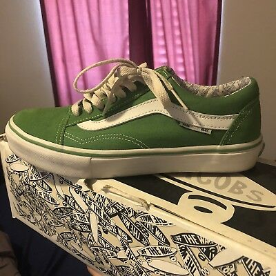 ace90b472f3 RARE Marc Jacobs VANS Old Skool Size 8 Green
