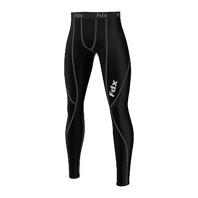 FDX Mens Athletic Compression Base layer Tights, Pants, running Gym Under Armour