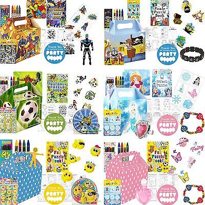 Party Bag Toys For Boys (Boys Girls Pre filled Party Bags Boxes For Birthdays Loot Bag Toys)