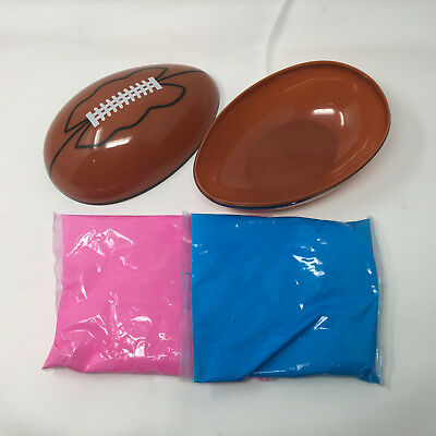 Gender Reveal Football - Pink and Blue Kit (Gender Reveal Decorations)