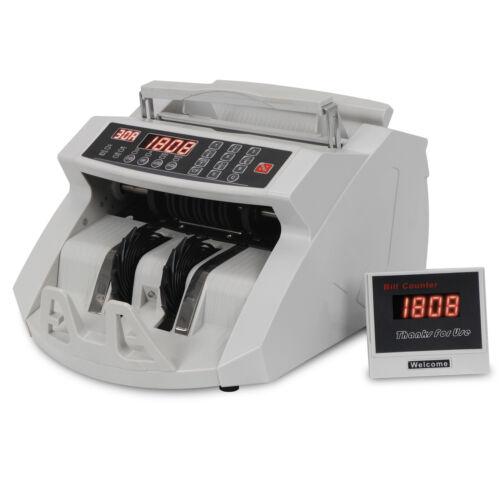NEW!! Money Counter Machine Bill Counter Cash Counter UV MG & IR Counterfeit