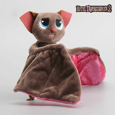 "New Hotel Transylvania Mavis Bat Adjustable Wings Soft Plush Toy 7"" Bat Gift"