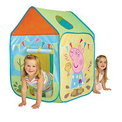 PEPPA PIG WENDY HOUSE PLAY TENT EASY ASSEMBLE POP UP 2 YEARS