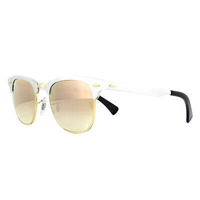 Ray-ban Sonnenbrille Clubmaster Aluminium 3507 137/7O Silber Kupfer Mirror 49mm