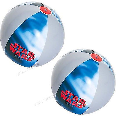 2 x Large Inflatable Beach Ball Swimming Pool Party Play Ball 24