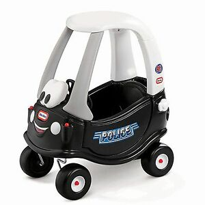 Little Tikes Patrol Police Cozy Coupe Brand New FREE SHIPPING