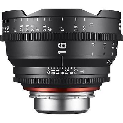 Rokinon Xeen 16mm T2.6 Lens for Canon EF Cine Cinema XN16-C for sale  USA