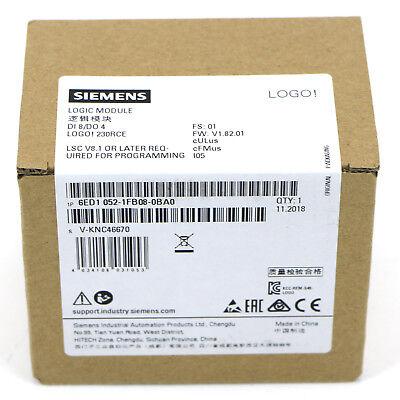 New In Box Siemens 6ed1052-1fb08-0ba0 Replace 6ed1052-1fb00-0ba8 Logo8 Logic