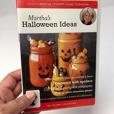 Martha's Halloween Ideas (DVD, 2006) Best of Martha Stewart Television Holiday