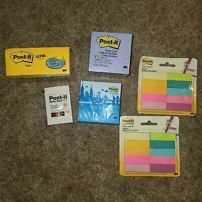 Post It Notes 6 Pc Lot