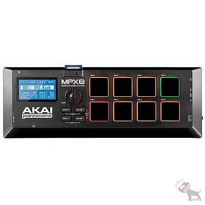 Akai Professional MPX8 SD Sample Player USB MIDI DJ Pad Drum Machine Controller