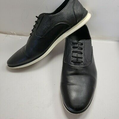 Zara Man Black Derby Dress Shoe Sneaker Sz EU 43 US 10