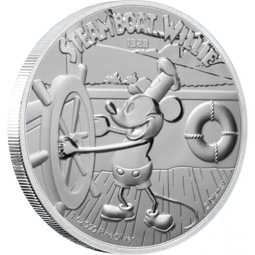 Steamboat Willie -DISNEY 1oz Proof Silver Coin Niue 2020